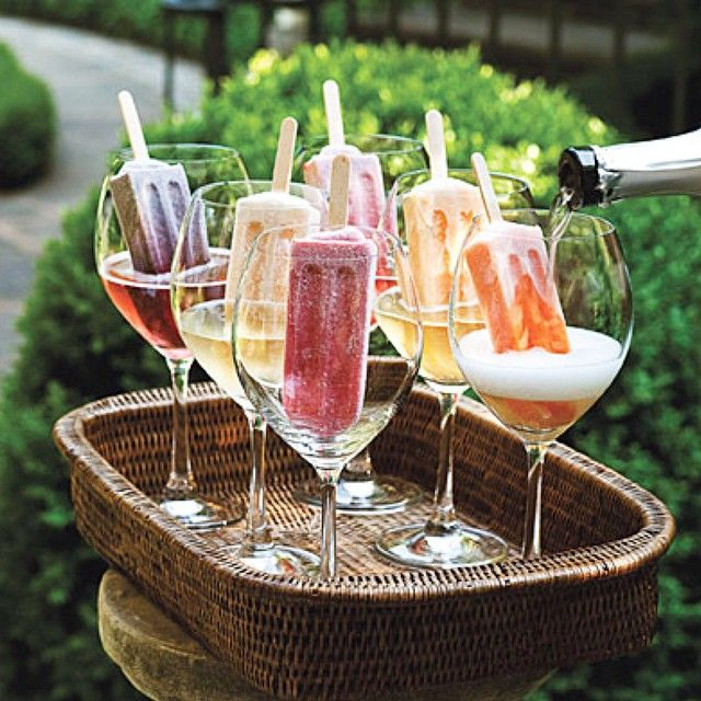 prosecco icelolly cocktails drinks party ideas ideias festa