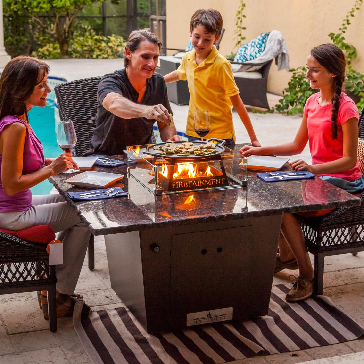 4a43b71914a0b6304c9a316cf1d80b7e Top Result 50 Awesome Patio Dining Table with Fire Pit