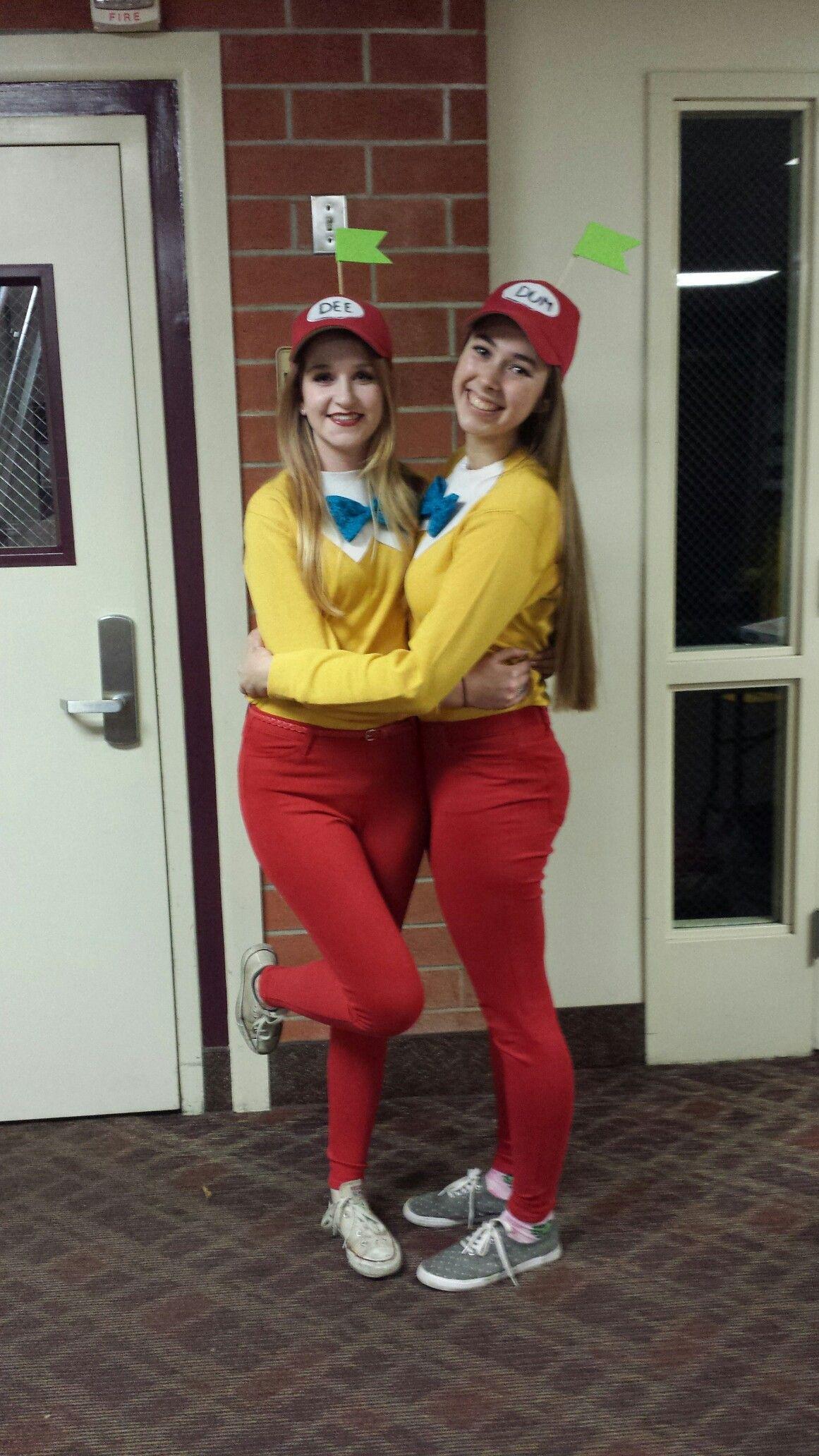 Tweedle Dee and Tweedle Dum Halloween Costume