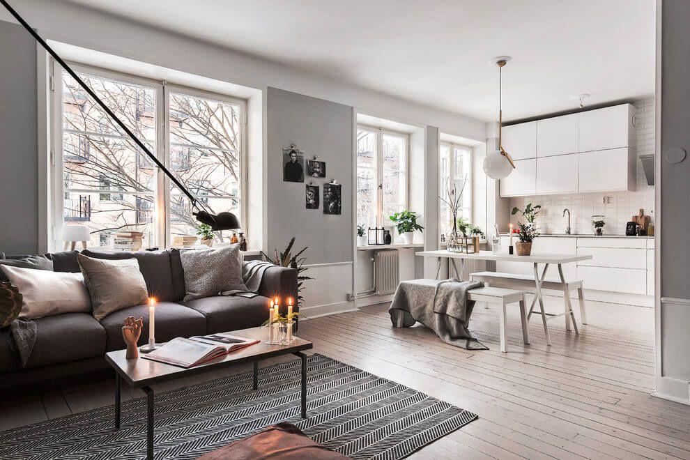 Un appartamento in stile scandinavo a stoccolma interior design