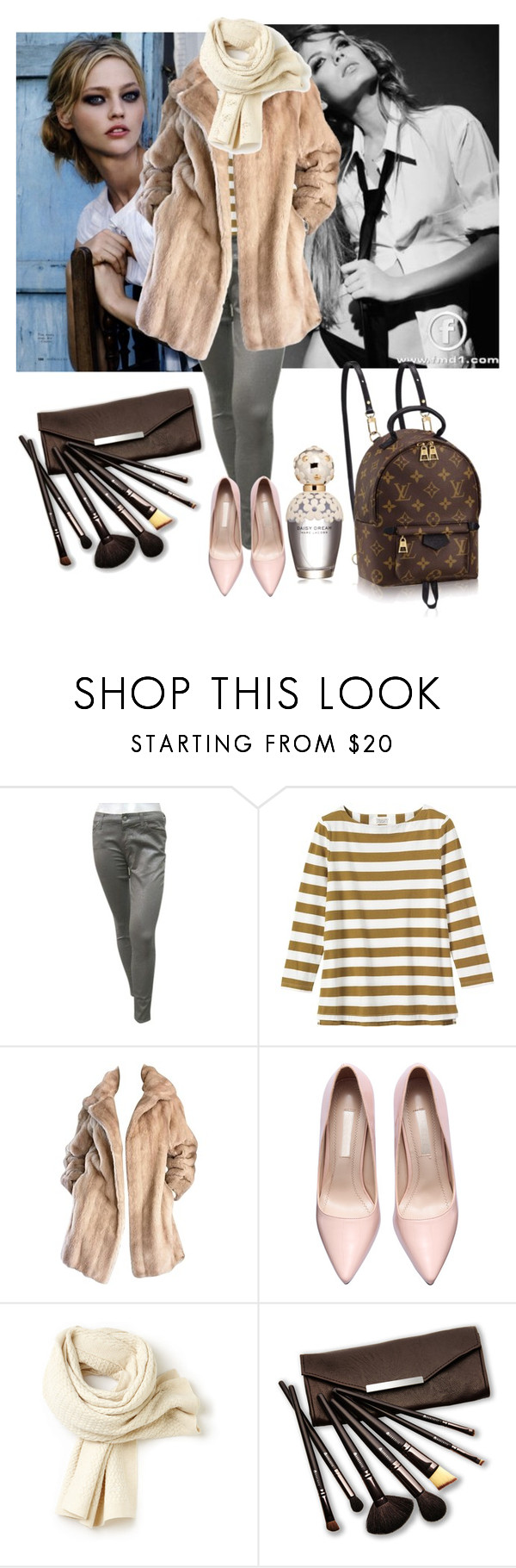 """13 Jan 2016"" by eiliana ❤ liked on Polyvore featuring moda, 7 For All Mankind, Toast, Louis Vuitton, Lacoste, Borghese y Marc Jacobs"