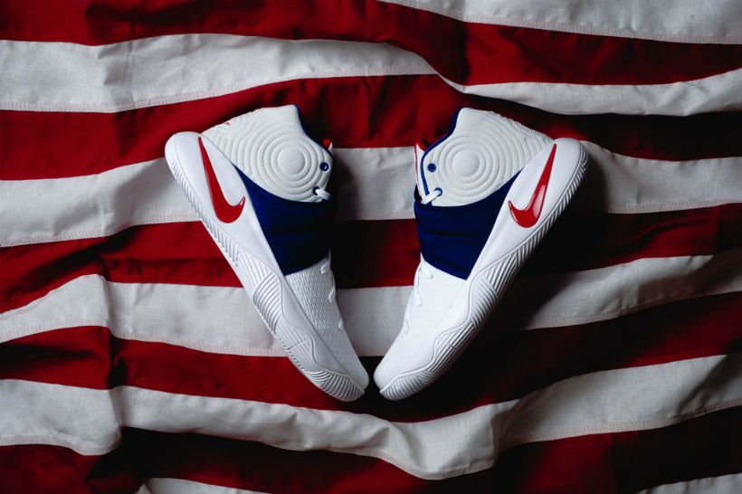 """the best attitude 0db81 58137 Nike Kyrie 2 """"USA"""" Set to Drop in Time For the Olympic Games ..."""