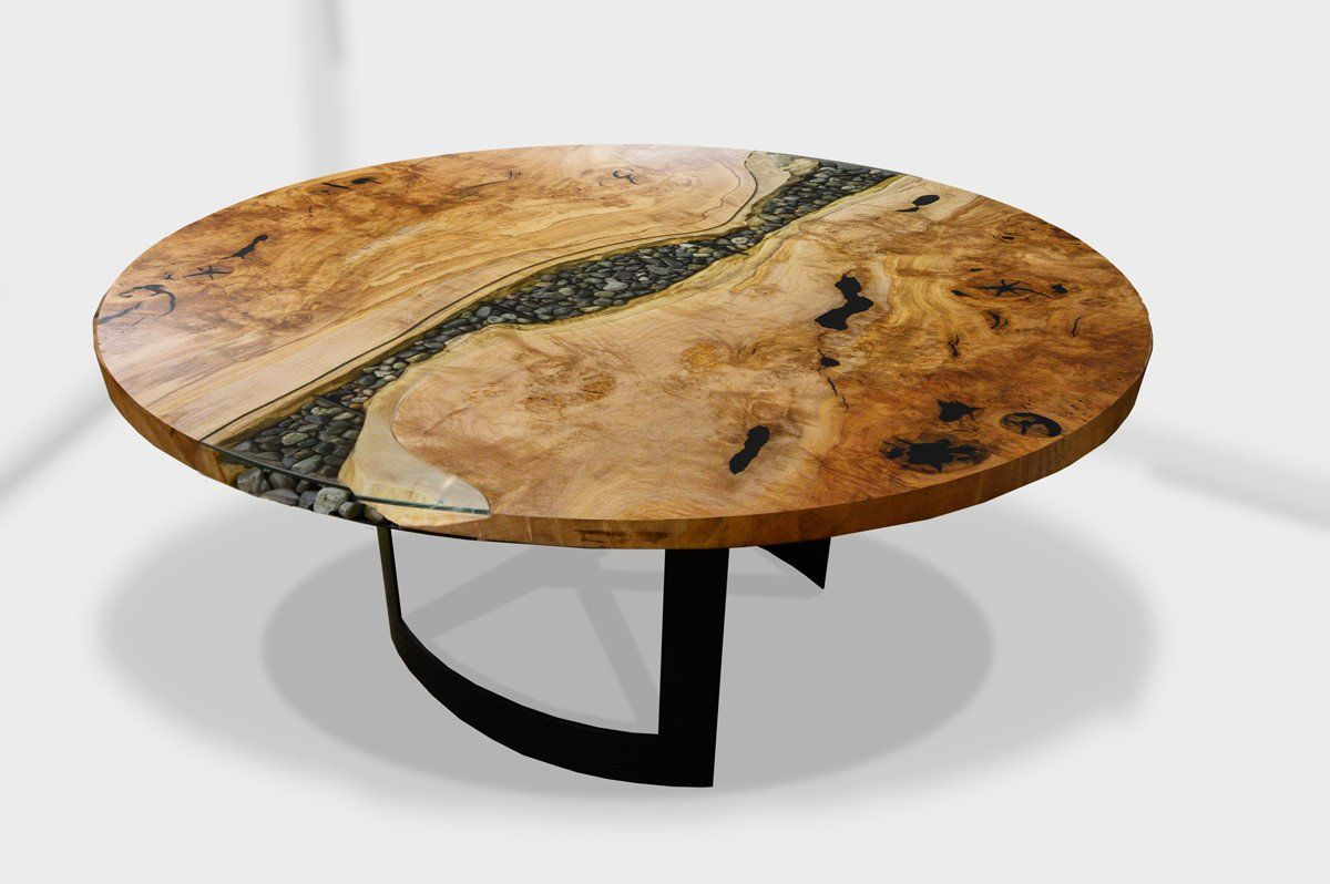 River Run Round Dining Table Metal Dining Table Craftsman Dining Tables Dining Table