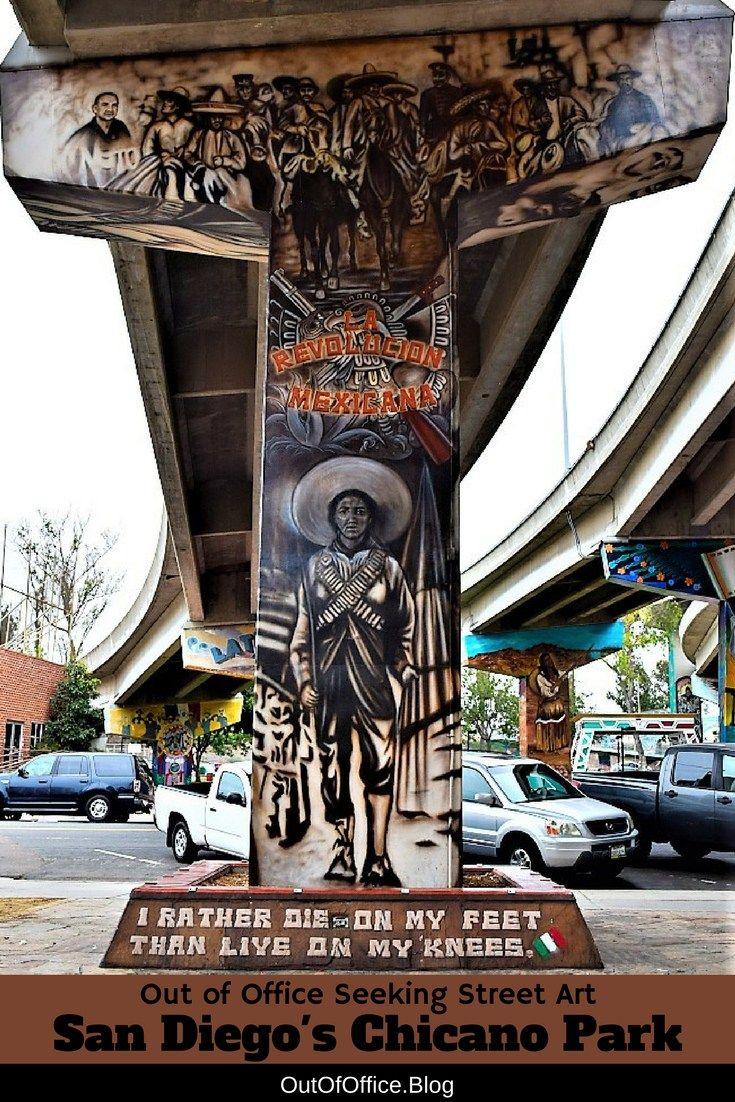 San Diego Street Art Of Chicano Park Chicano Park Chicano