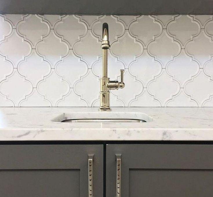 Kreative Wandgestaltung Mit Farbe: 45 Schöne Küche Umgestalten Backsplash Fliese Ideen (mit