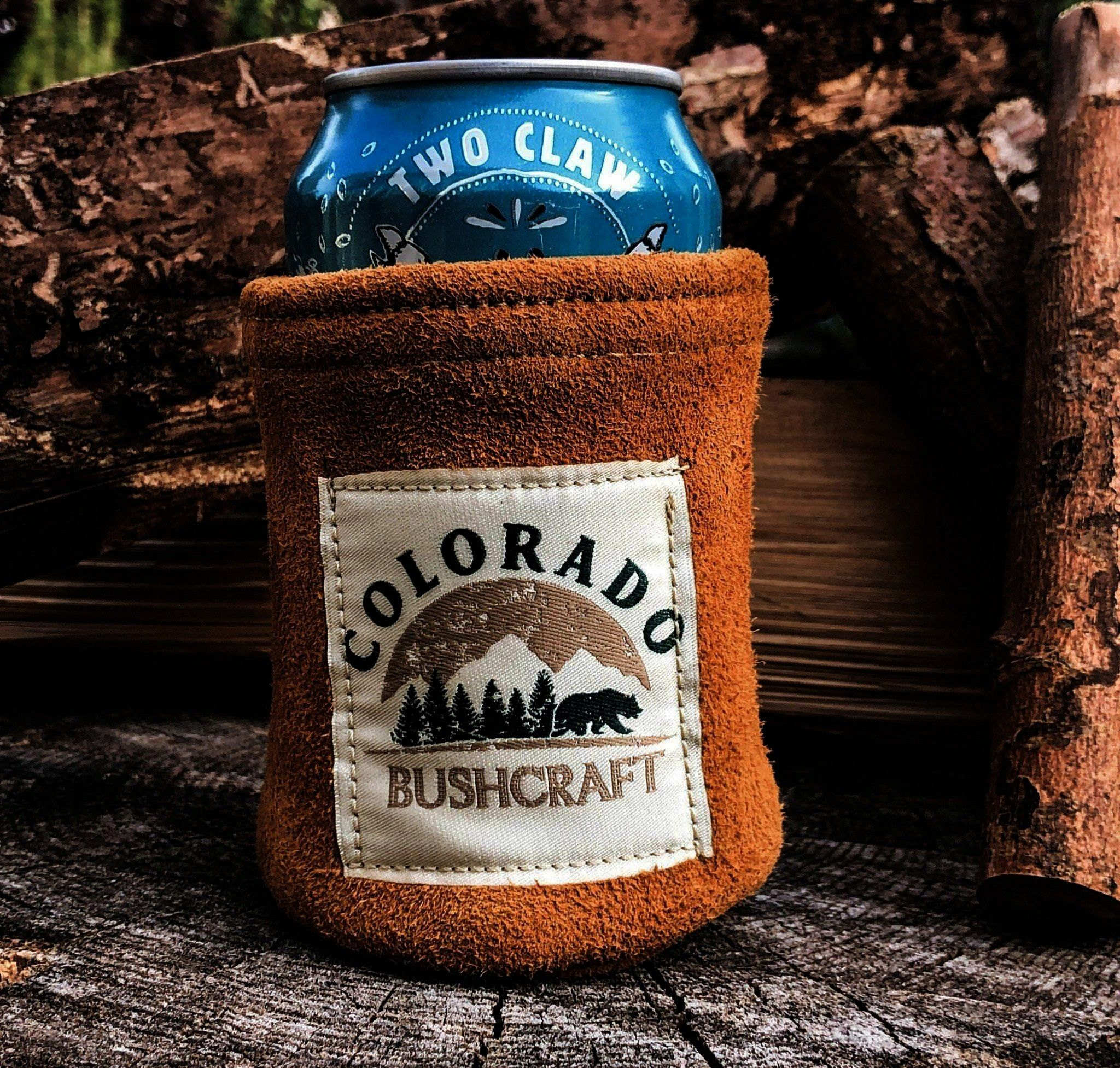 Cosy Cooler Coozie Cozy Wool Insulated Tobacco Bushcraft Deerskin Can Cosy Cooler Coozie Cozy Wool Insulated Tobacco Bushcraft Deerskin Can Cosy Cooler Coozie Cozy Wool I...