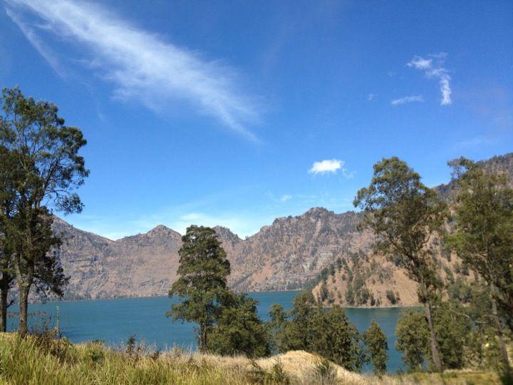 Danau Segara Anak | Danau, Pegunungan, dan Anak