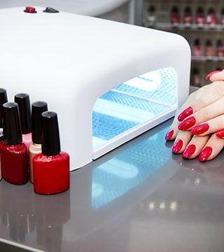 The Dangers Of The Gel Manicure A Cautionary Tale Gel Manicure Gel Nail Light Gel Nails