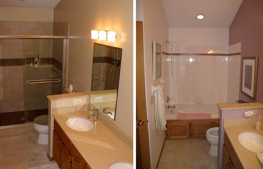 small bathroom renovations before and after httplanewstalkcombest - Images Of Remodeled Small Bathrooms