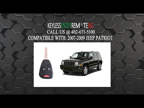 How To Change A 2007 2018 Jeep Patriot Key Fob Remote Battery Fcc Id Oht692713aa Key Fob Programming Instructions Jeep Patriot Key Fob Fobs