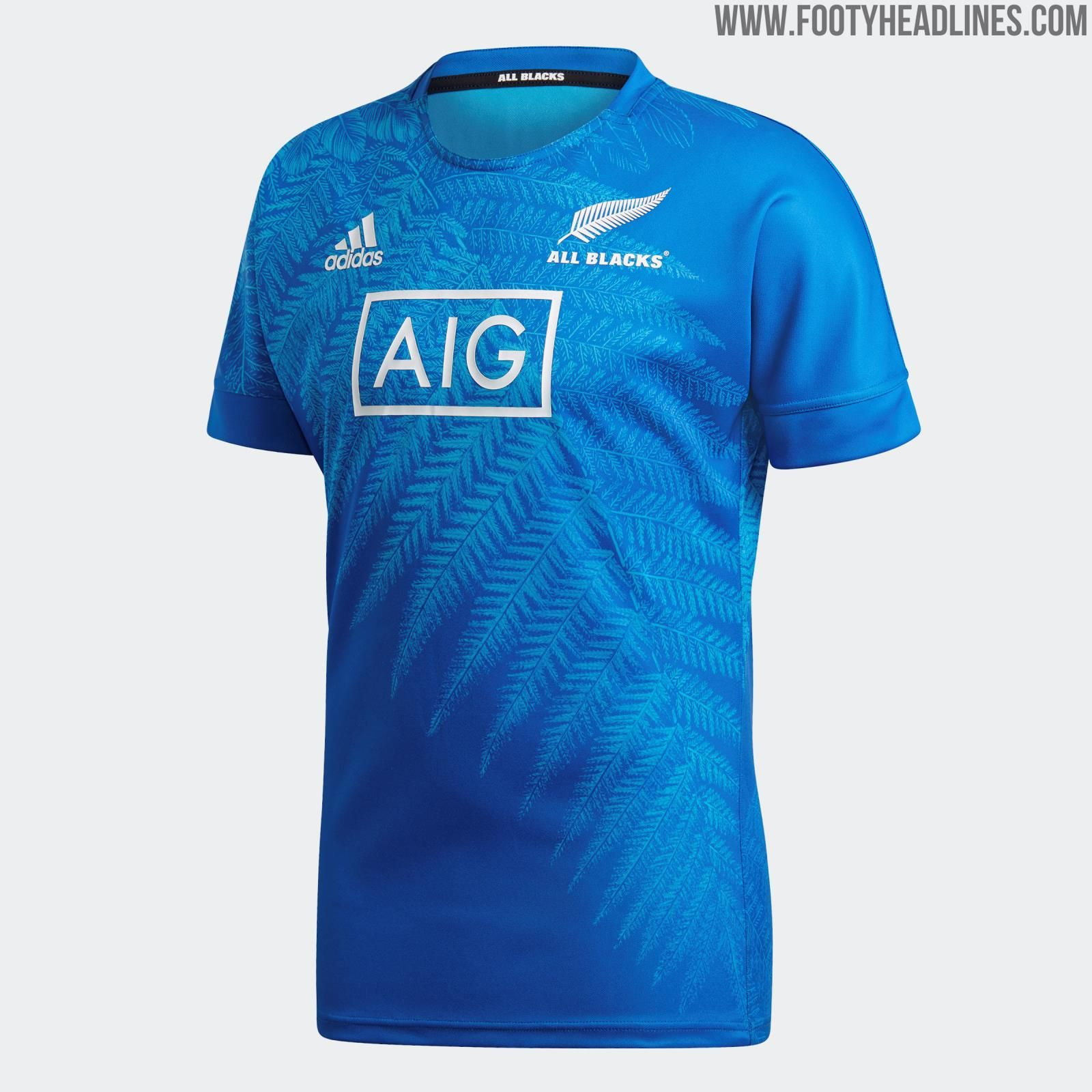 First Kit Designed By Yohji Yamamoto Since Real Madrid S In 2014 Amazing Adidas New Zealand 2019 Rugby World Cup Jerseys Released