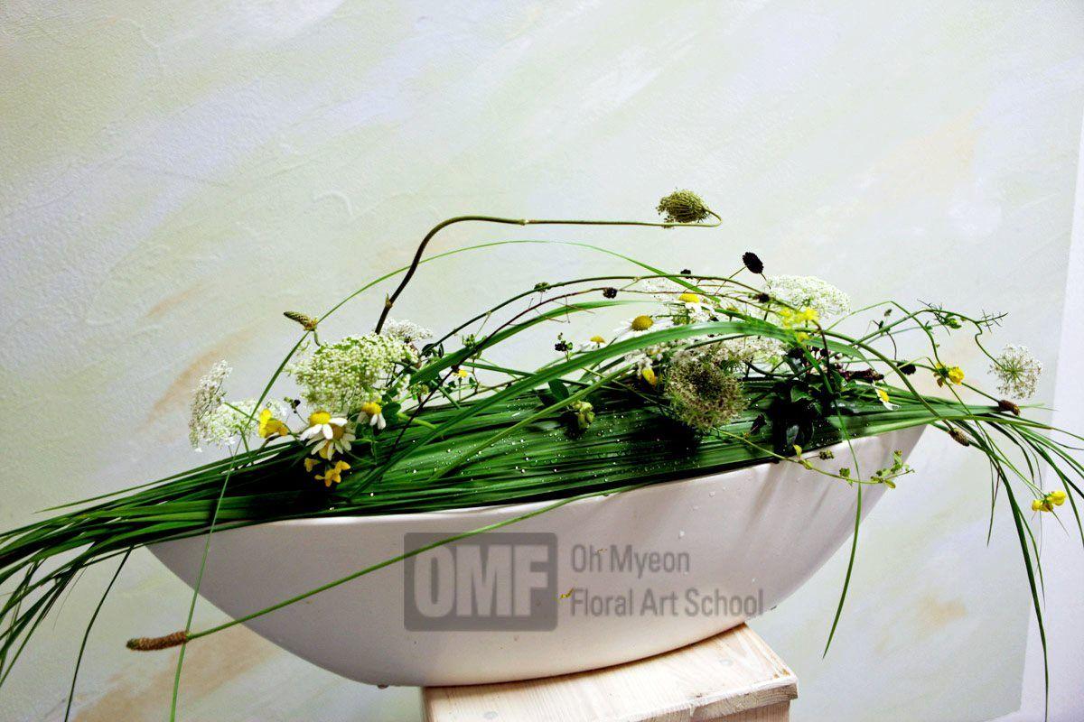 MasterFlorist korea Oh Myeon Floral Art School www.OMF.KR