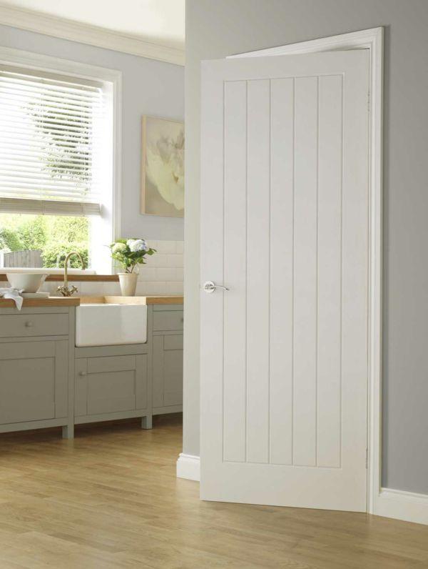 Decoraci n con puertas puertas pinterest puertas blancas entrada de casa y entrada - Decoracion puertas blancas ...