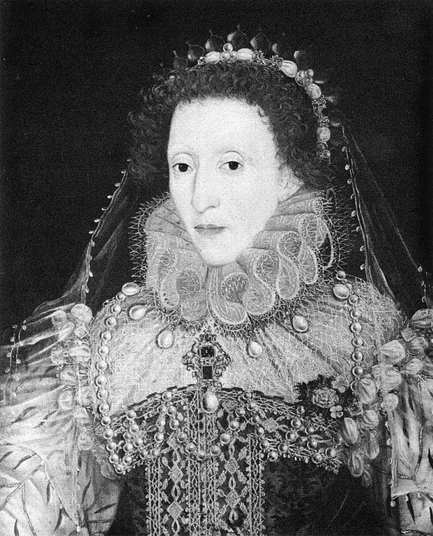 Queen elizabeth c 1580