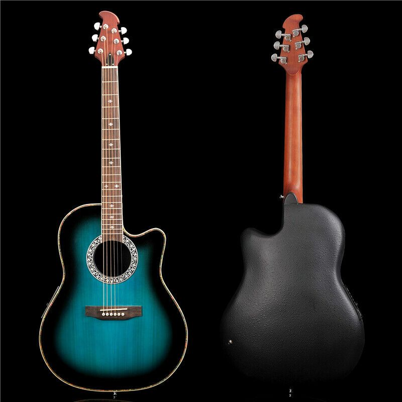 Pango Guitar 41 Round Back Acoustic Guitar With 4 Sections Eq Pnt 131 02 Acoustic Guitar Guitar Guitar Songs