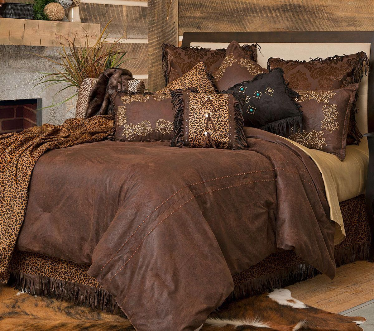 Old West Bed Set Queen Luxury Bedding Luxury Bedding Sets Bedding Sets