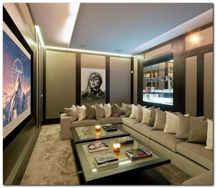 21 Incredible Home Theater Design Ideas Decor Pictures: 50+ Tiny Movie Room Decor Ideas