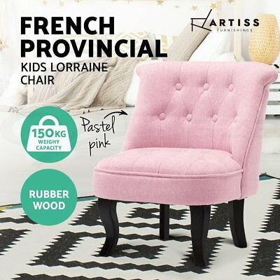 Artiss French Armchair Accent Chair Sofa Wooden Retro Wing