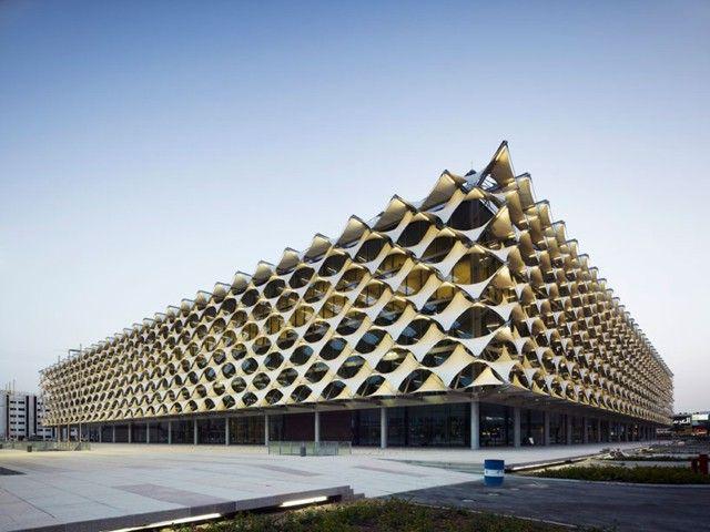 Ampliaci n de la biblioteca nacional rey fahd riad for Arquitectura parametrica pdf