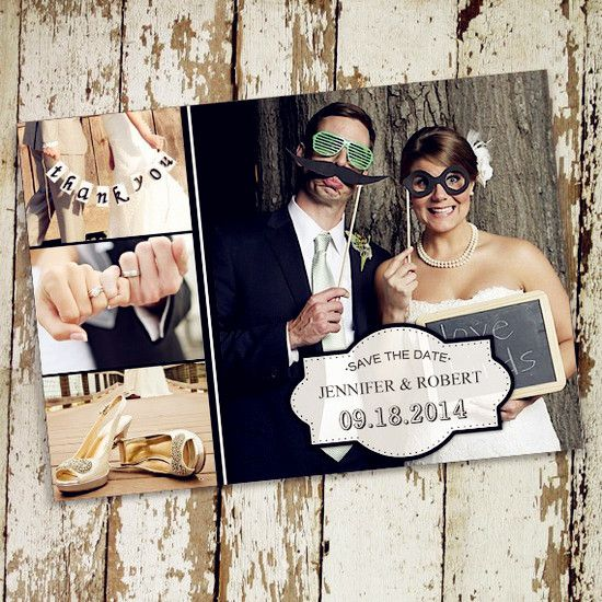 17 Best images about save the date ideas – Cheap Wedding Save the Date
