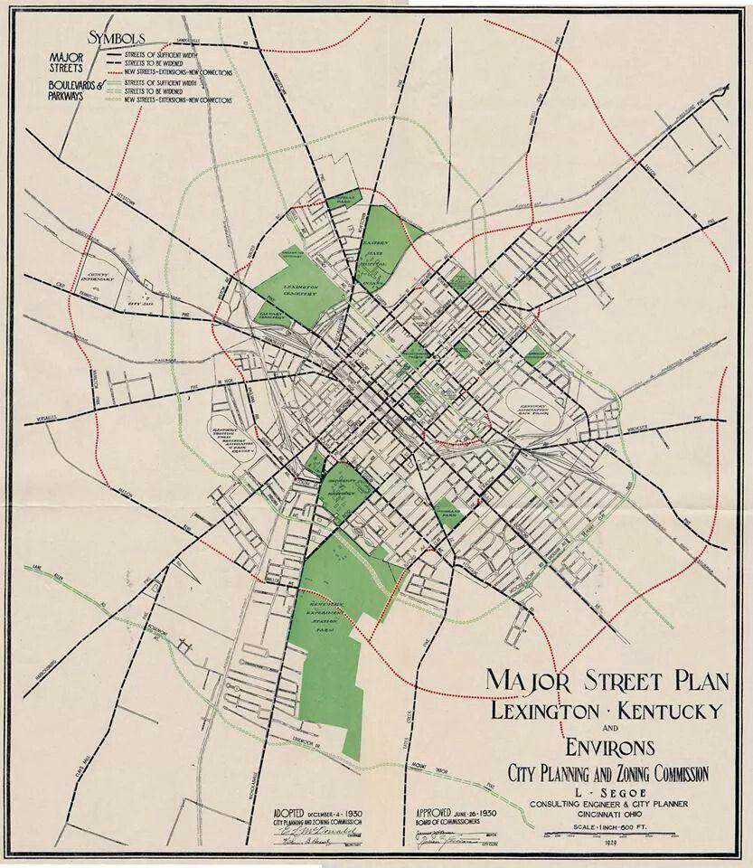 Lexington, Ky...1929 | History of