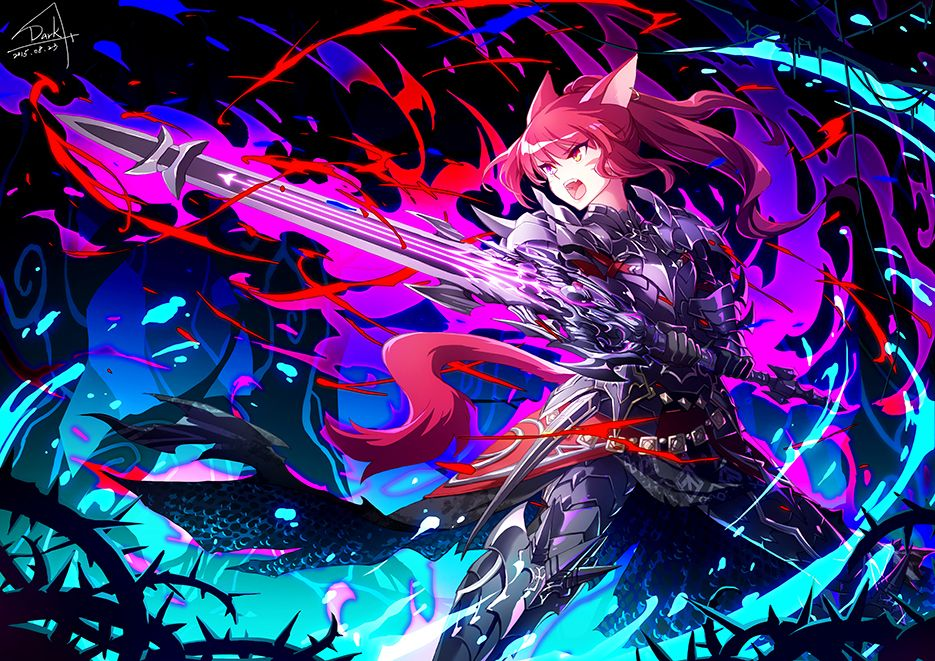 Ffxiv Dark Knight Open Ffxiv Character Anime Art Fantasy