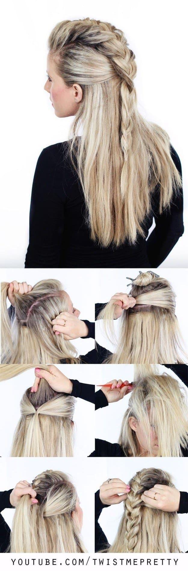 tutoriales de trenzas que querrás probar easy hair hair style
