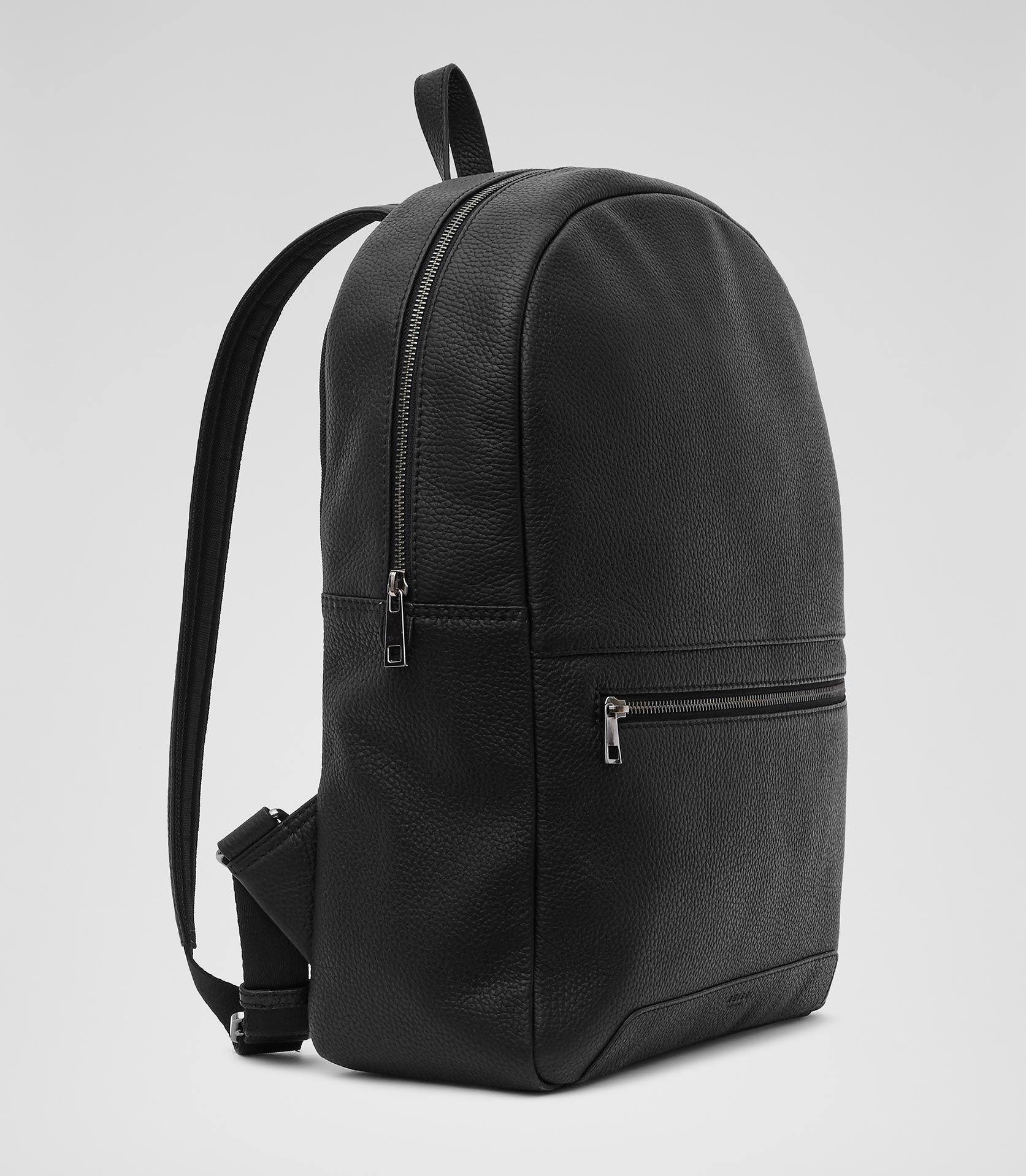 black backpack men
