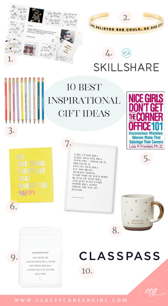10 Best Inspirational Gift Ideas Work And Life Tips For