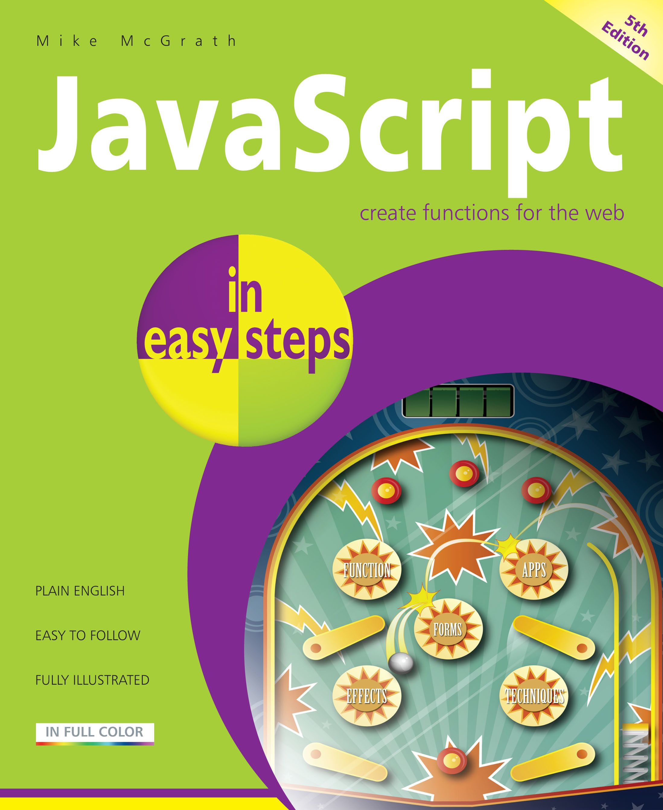 Javascript in easy steps, 5th edition   Programming books in
