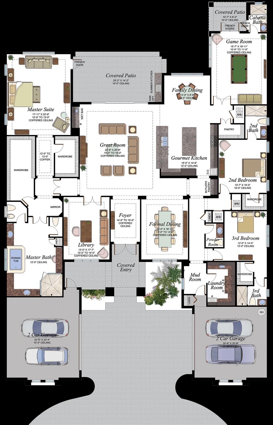 Seven Bridges Versailles Floorplan Sims House Plans Mansion Floor Plan Home Design Floor Plans