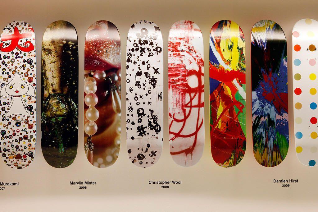 b55ff14ff27  Supreme Skate Deck Retrospective .