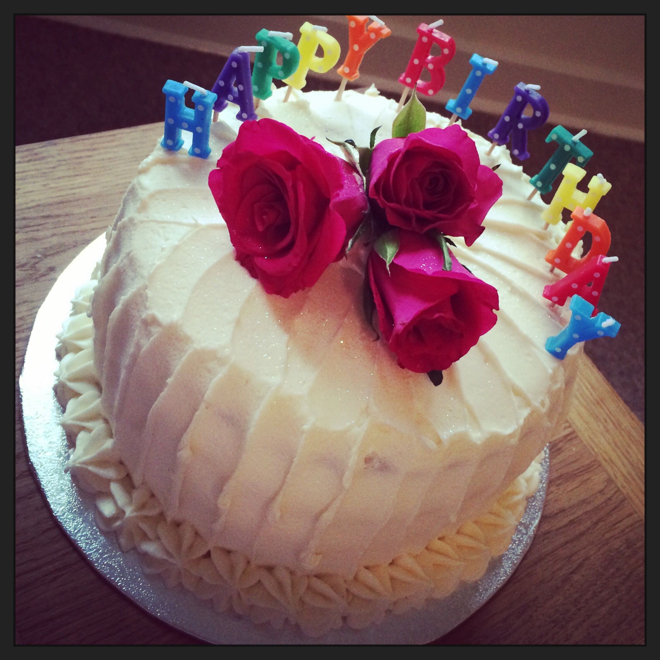 Birthday Cake For Mum Heather Honey Pear My Homemade