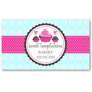 Business card showcase by socialite designs cupcake and cake pops business card showcase by socialite designs cupcake and cake pops bakery business cards reheart Gallery