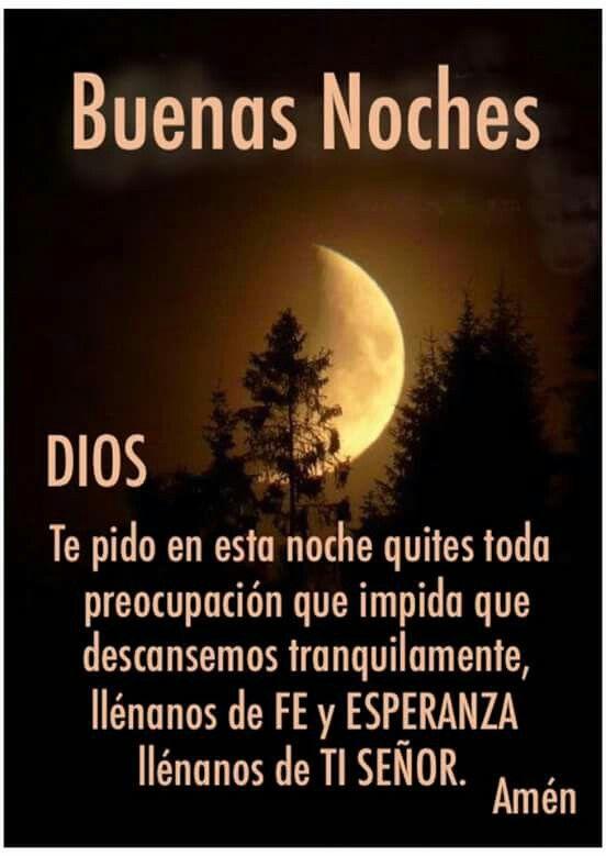 Buenas Noches Familia Dios Los Bendiga Que Descansen Los Amo Mucho