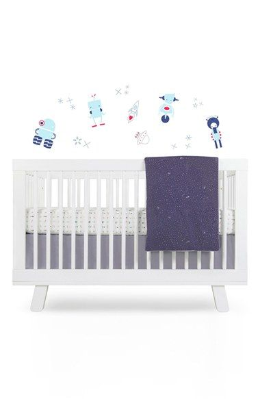 Babyletto Galaxy Crib Sheet Crib Skirt Changing Pad Cover Play Blanket Wall Decals Crib Sheets Cribs Crib Bedding Sets