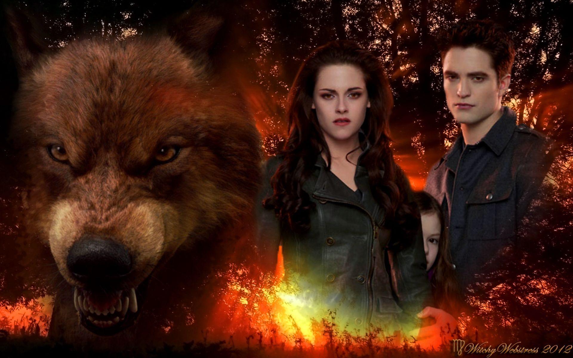 ♥ Jacob Protects Renesmee - Bella & Edward ♥ | Twilight