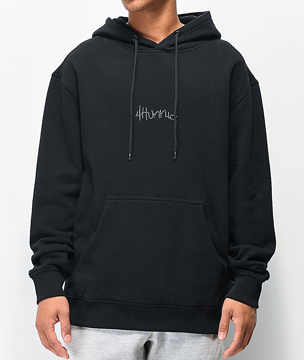 Pin By Kris Hao On Cosmic Clothing Hoodie Zumiez Black Hoodie Hoodies [ 1184 x 1000 Pixel ]