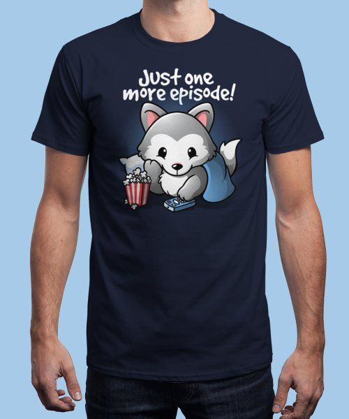 """""""Wolf one more episode"""" is today's £9/€11/$12 tee for 24 hours only on Pin… 
