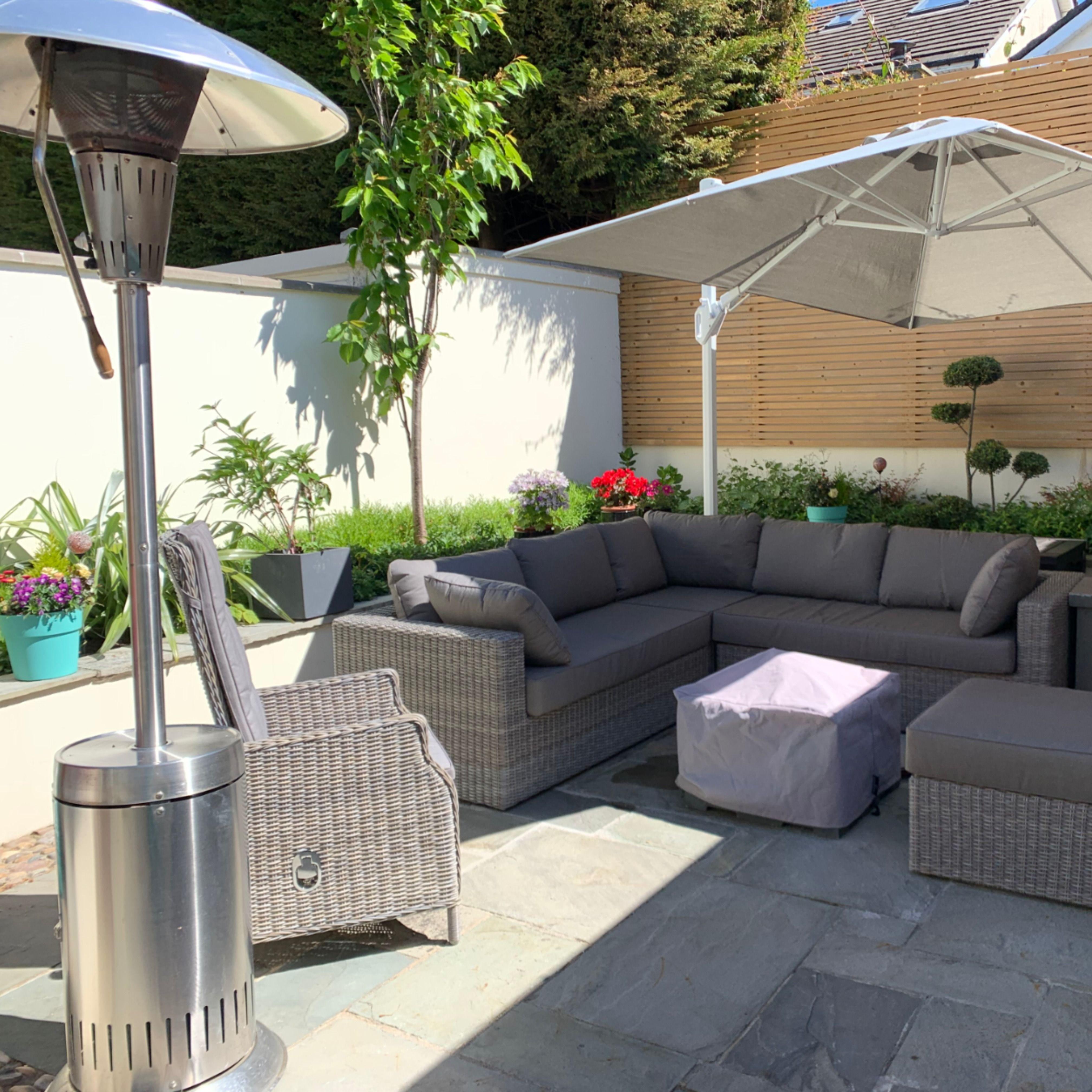 Stunning Irish Patio In 2020 Patio Garden Furniture Ireland Outdoor Heating