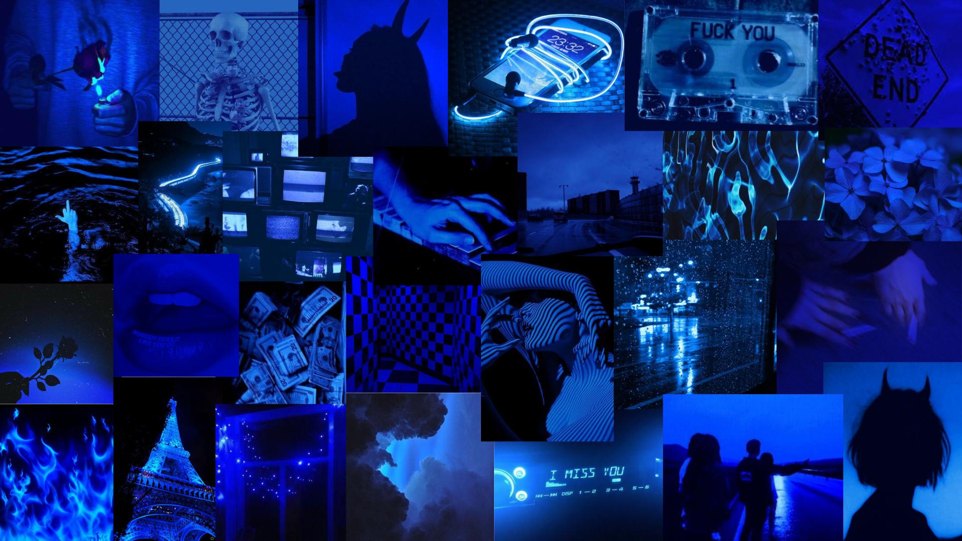 Dark Blue Aesthetic In 2021 Dark Blue Wallpaper Blue Aesthetic Mood Wallpaper
