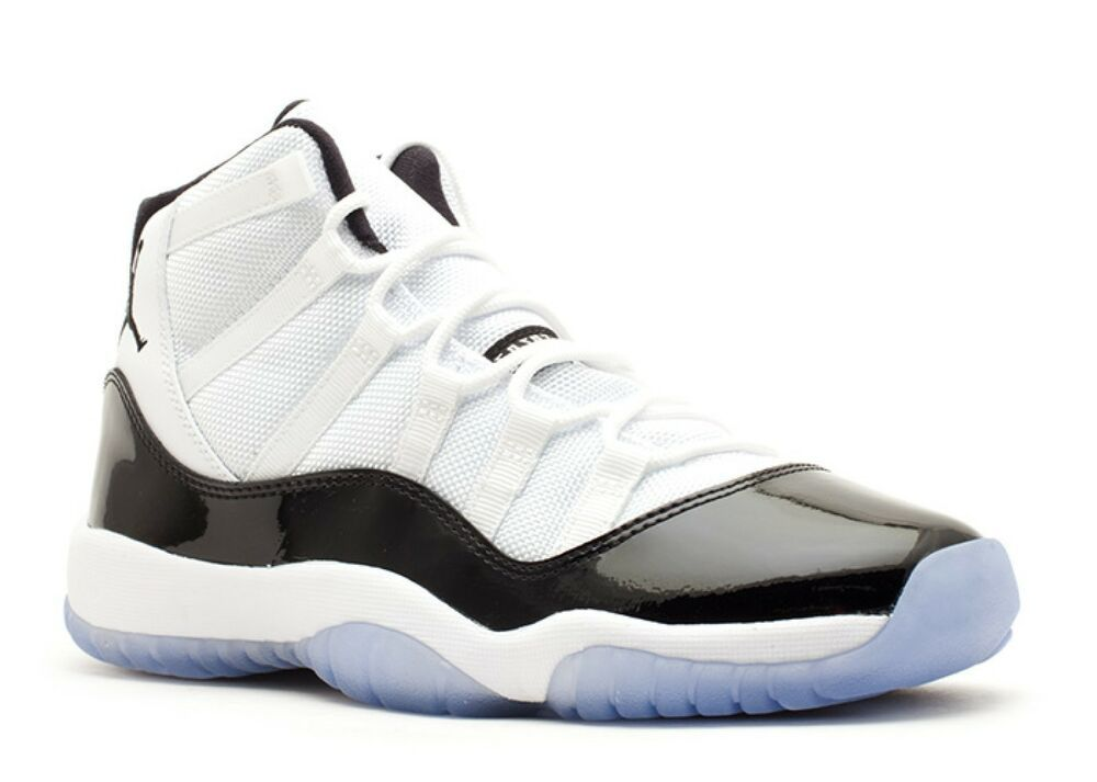 hot sales 1efb3 bfe3a Air Jordan 11 Retro (GS) Concord Size 5Y Nike White Black 378038-107 2011   fashion  clothing  shoes  accessories  kidsclothingshoesaccs  boysshoes  (ebay ...