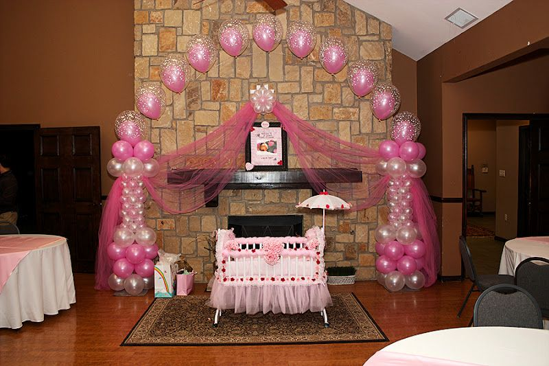 Cradle ceremony balloon decorations google search for Baby shower function decoration