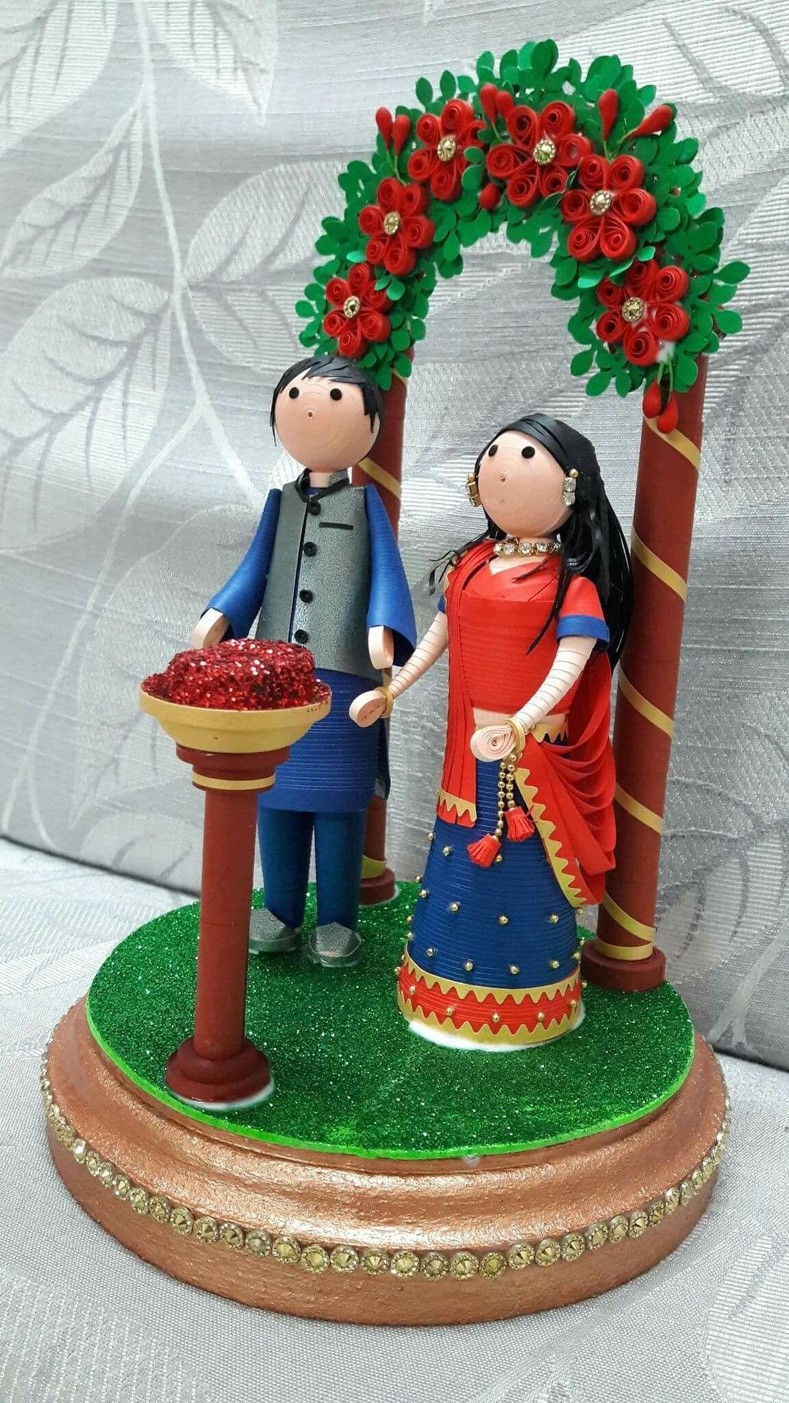 Quilling wedding decorations  Pin by Ana Maria Mendez rodriguez on archivos de álbum  Pinterest