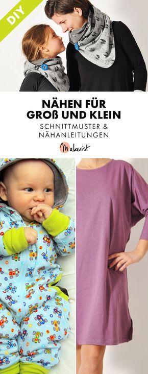Anfängerfreundliche Schnitte für Groß und Klein. Babykleidung ...