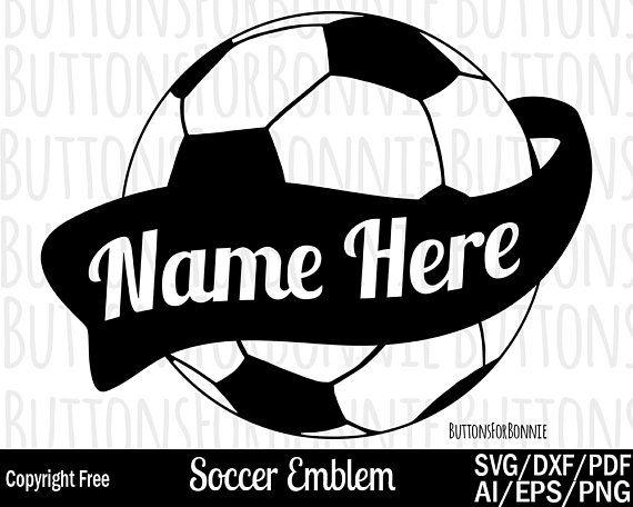 Soccer Svg Ball Swoosh Shirt Name Template Desi