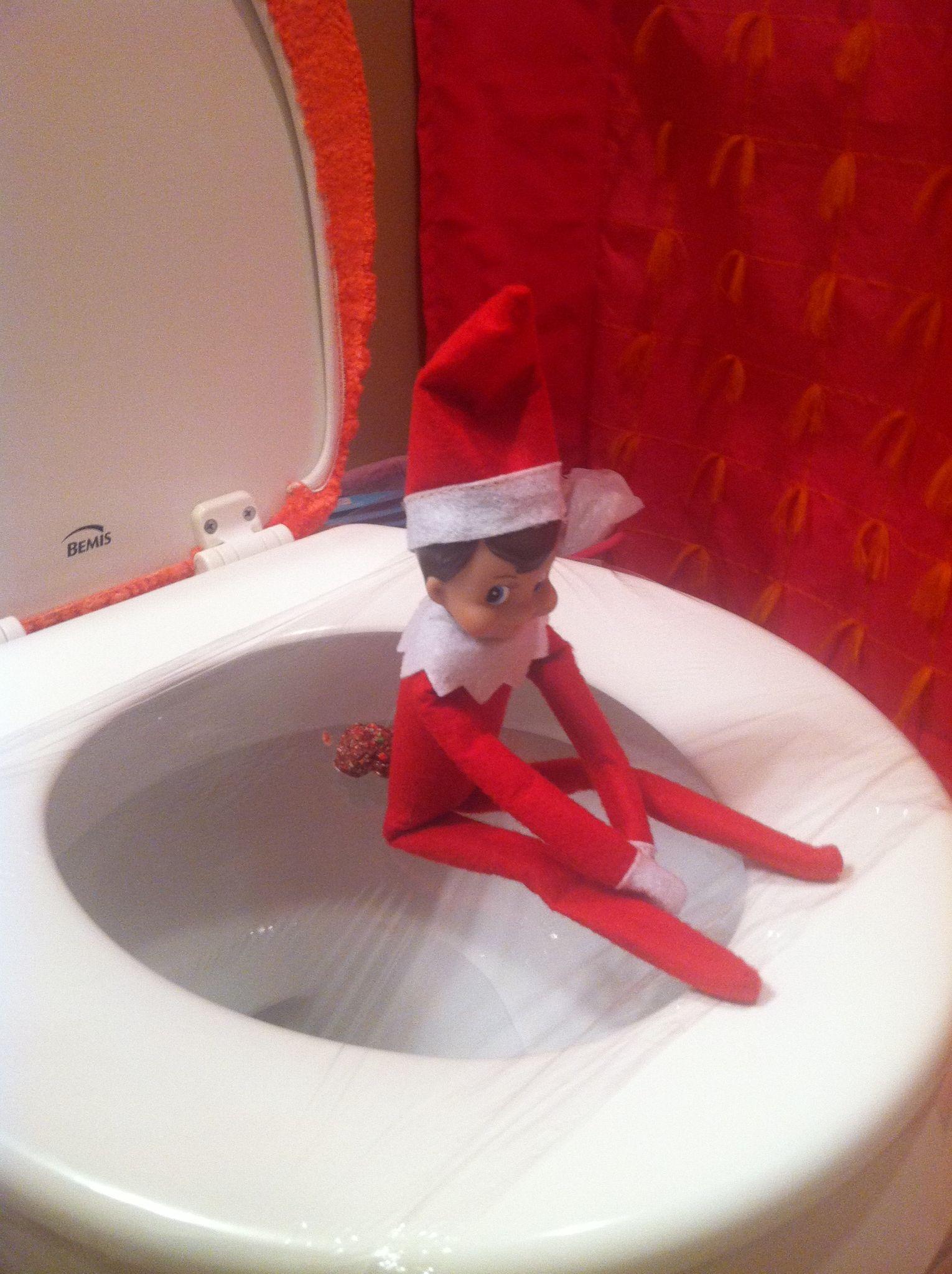 My boyfriend's version of elf on the shelf :)