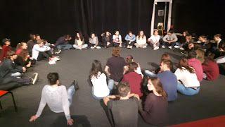 Option Théâtre Lycée Artaud: Rencontre avec les élèves du Conservatoire de Mars...