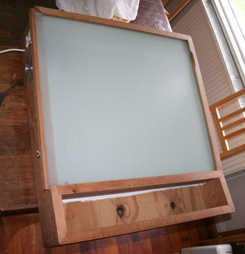 Lighted Table For Drafting Calligraphy Animation Etc
