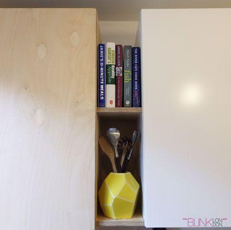 Blink London kitchen redesign, Ikea kitchen, plywood details, lifestyle blogger, Ikea hack